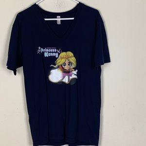 American Apparel- Princess Kenny T-shirt size Med